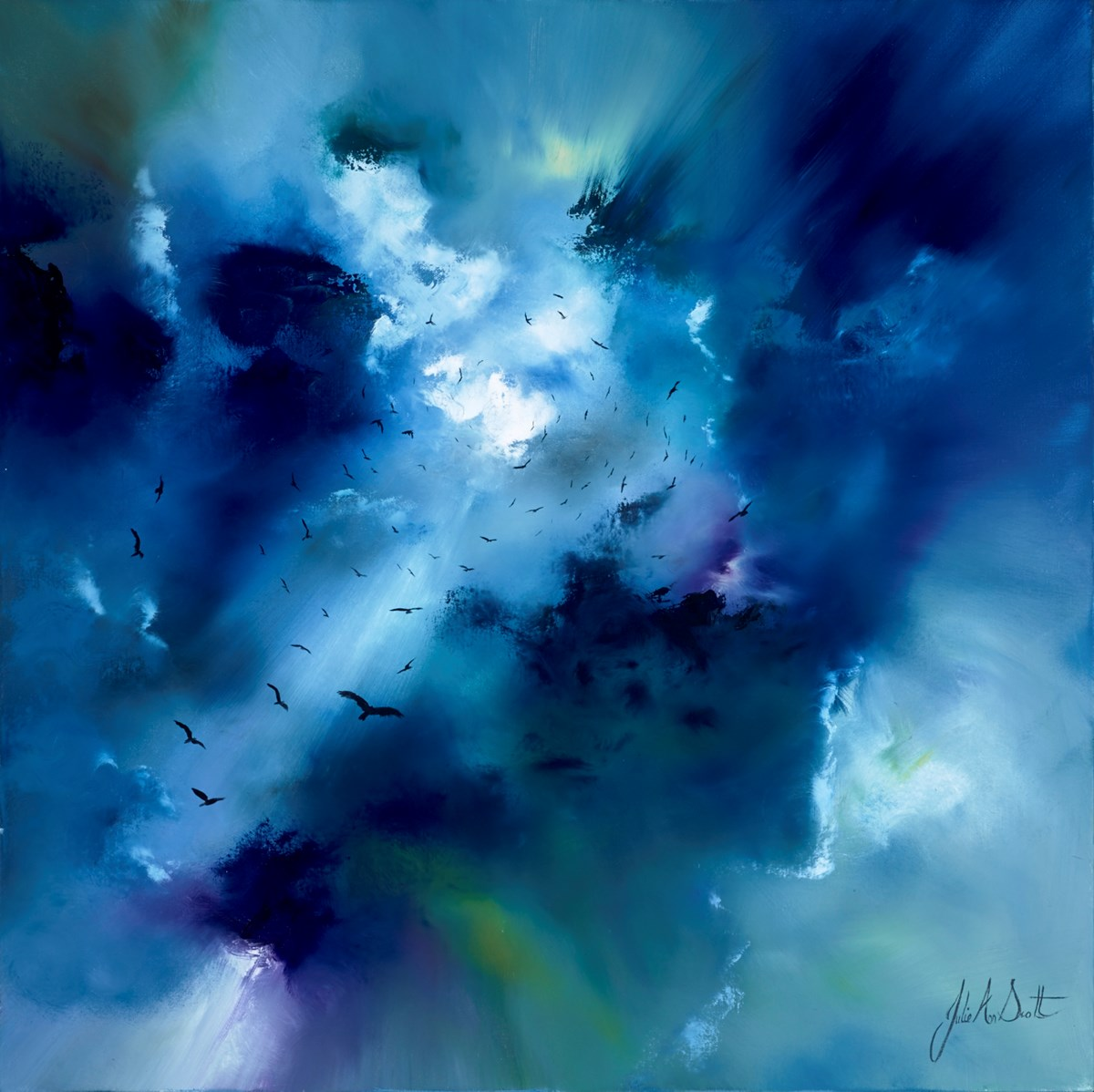 Reaching Towards You by julie ann scott -  sized 30x30 inches. Available from Whitewall Galleries